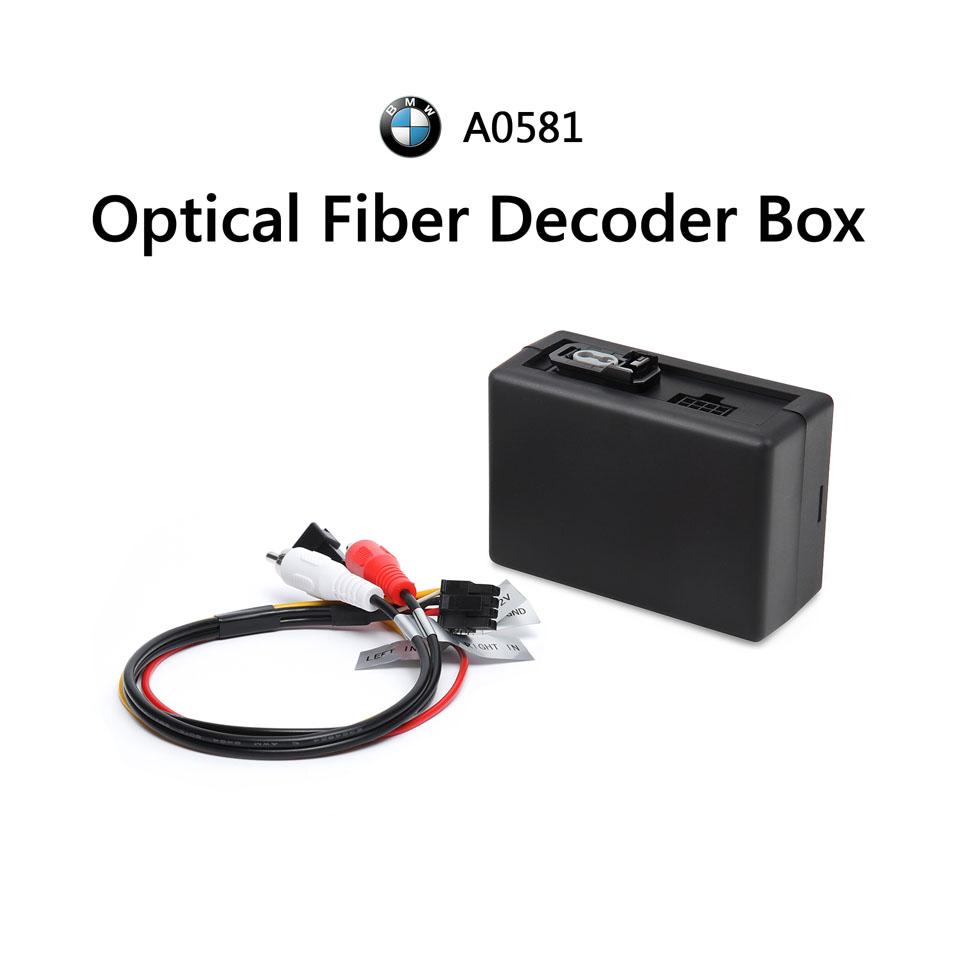 Optical Fiber Decoder Box for BMW E90 E92 E93 Aftermarket